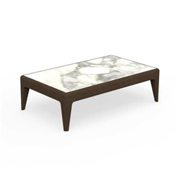 TALENTI outdoor coffee table CRUISE TEAK Icon Collection