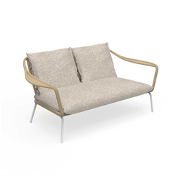 TALENTI outdoor 2 seater sofa CRUISE ALU Icon Collection