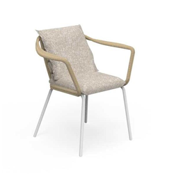 TALENTI outdoor chair with arms CRUISE ALU Icon Collection