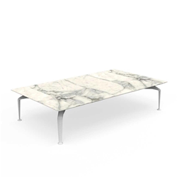 TALENTI outdoor coffee table 160x90 cm CRUISE ALU Icon Collection