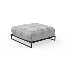 TALENTI outdoor footrest pouf CASILDA Collezione Icon