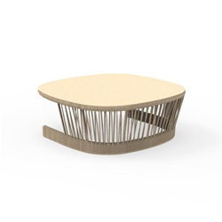 TALENTI outdoor BIG coffee table CLIFF Icon Collection