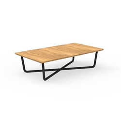TALENTI outdoor coffee table 118x68 cm DOMINO Icon Collection