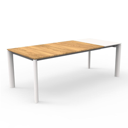 TALENTI outdoor extensible table 160-215 cm DOMINO Icon Collection