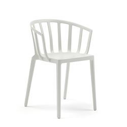 KARTELL set of 2 chairs with arms VENICE MAT