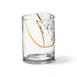 SELETTI set of 6 glasses KINTSUGI GLASS 6x09657