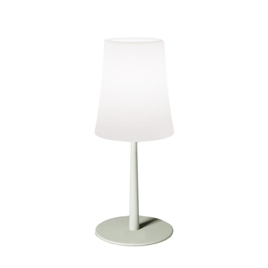 Foscarini Lampada Da Tavolo Birdie Easy Verde Salvia Policarbonato E Metallo Myareadesign It