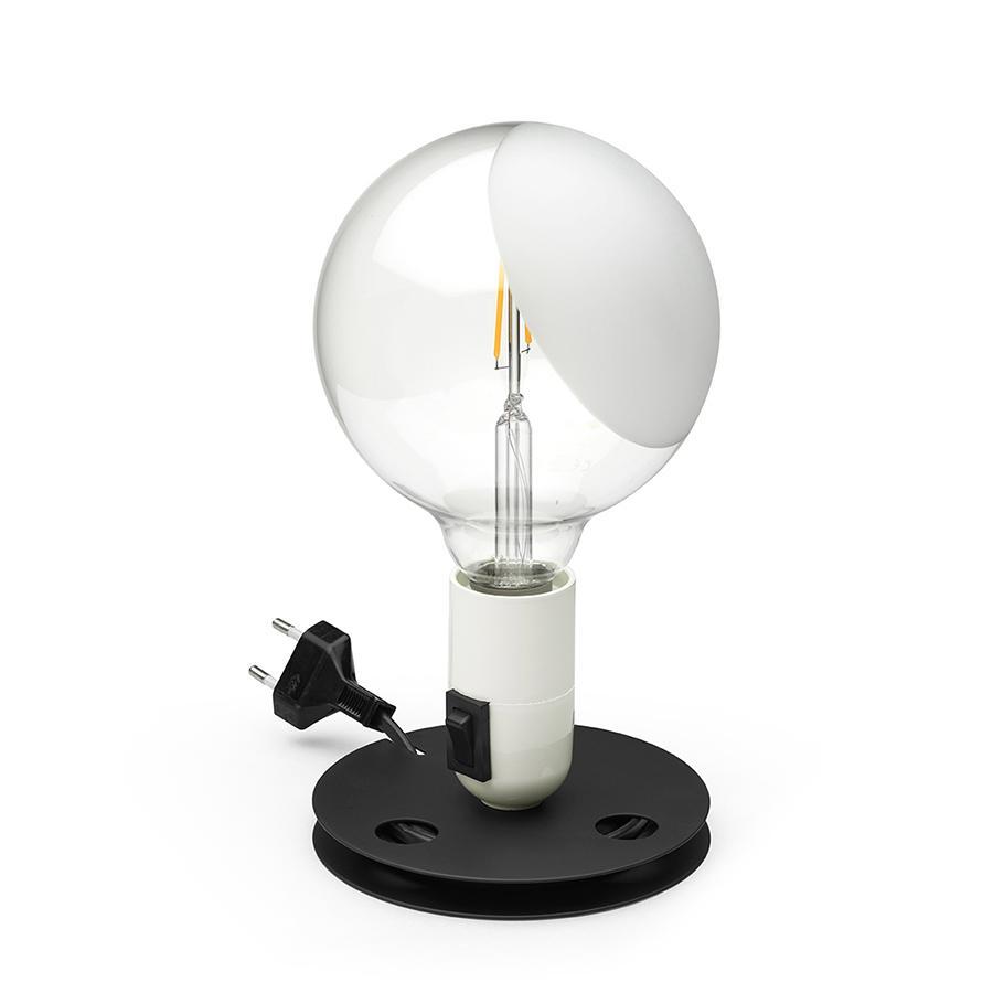Flos Lampada Da Tavolo Lampadina Bianco A Led Alluminio Myareadesign It