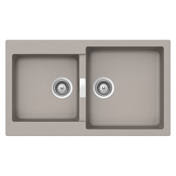 SCHOCK reversible sink with 2 bowls PRIMUS N200