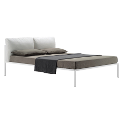 ZANOTTA double bed NYX 1707 for a mattress size 180 x 200 cm