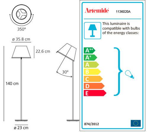 ARTEMIDE CHOOSE FLOOR