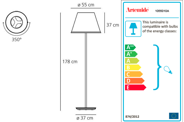 ARTEMIDE CHOOSE MEGA FLOOR