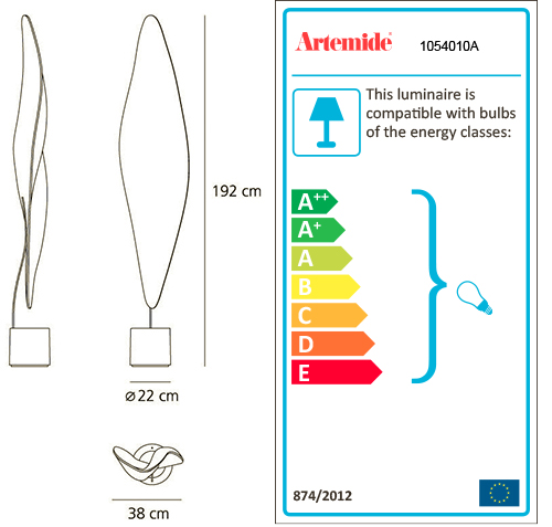 ARTEMIDE COSMIC LEAF FLOOR