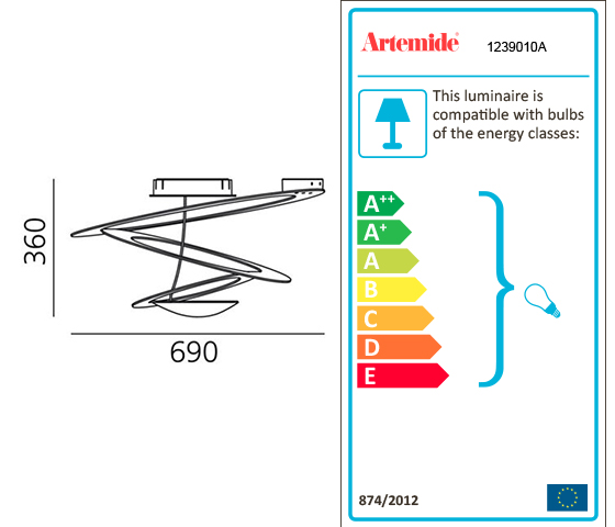 Artemide Pirce Mini