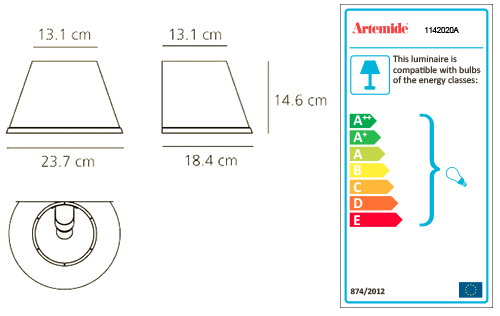 ARTEMIDE CHOOSE WALL IP 23