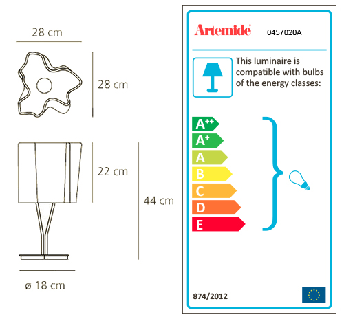 ARTEMIDE LOGICO MINI TABLE
