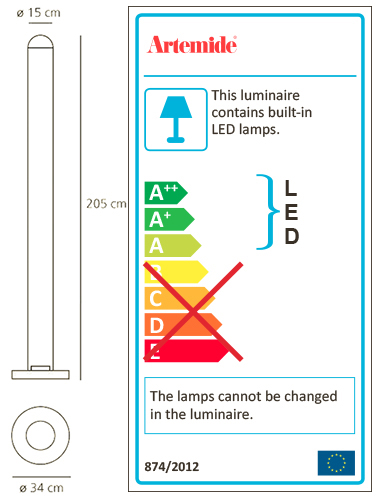 ARTEMIDE METACOLOR LED