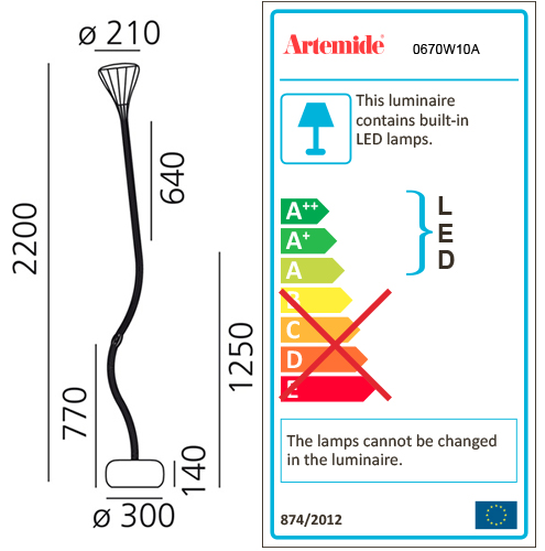 ARTEMIDE NEW NATURE