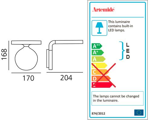 ARTEMIDE REA 17
