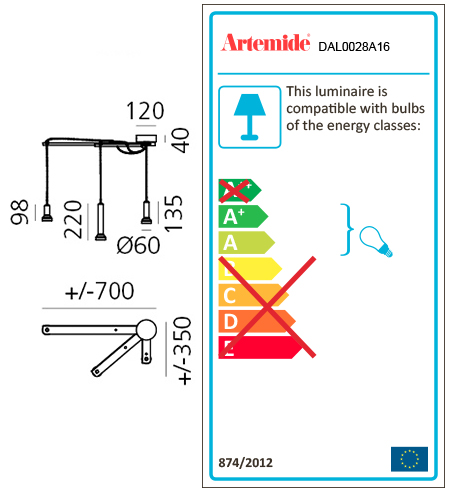 ARTEMIDE STABLIGHT SMART