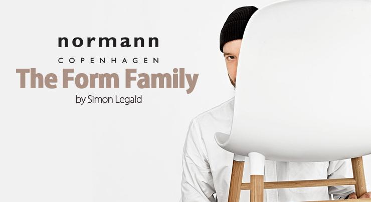 Form Normann Copenhagen in vendita online su MyAreaDesign