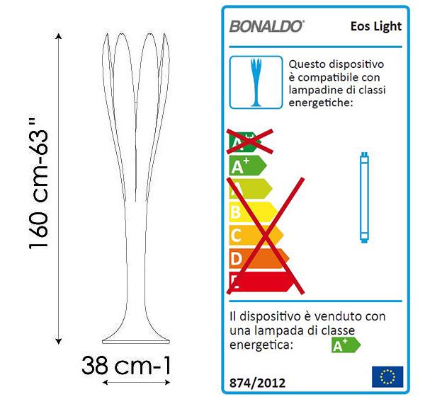 bonaldo eos light misure
