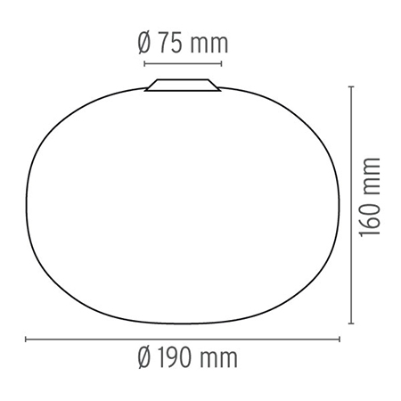 Flos Glo-Ball C/W Zero