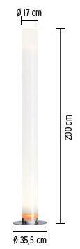 flos lampada stylos misure