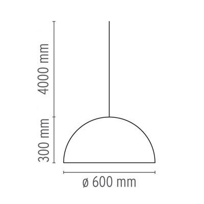 flos lampada skygarden 1 misure