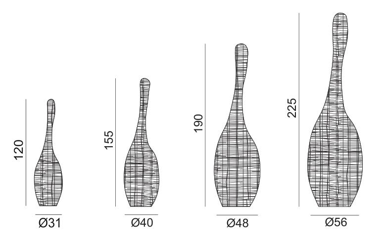 gervasoni bolla sizes