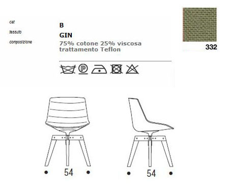 mdf italia flow chair sizes