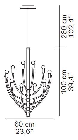 oluce p.za s.marco sizes