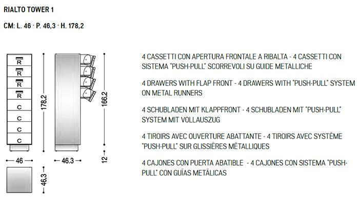 Riva 1920 Rialto Tower 1