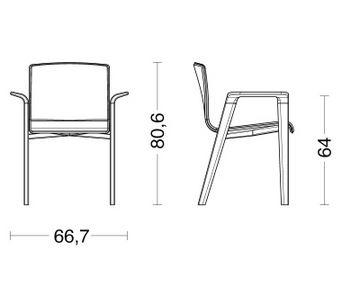 riva 190 louise armchair