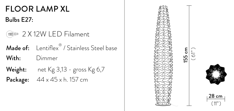 slamp cactus prisma XL
