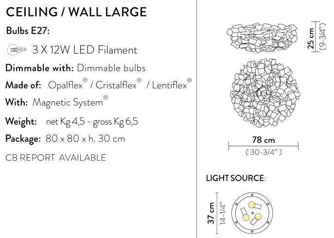 slamp clizia wall large