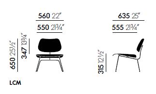 vitra plywood lcm sizes