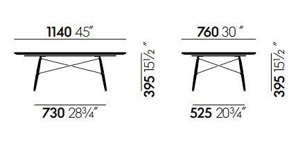 Vitra Eames Coffee Table
