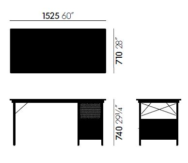 vitra eames desk unit edu sizes