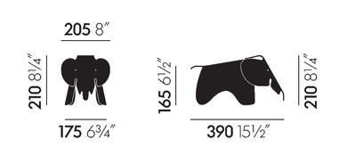 Vitra Elephant Small misure