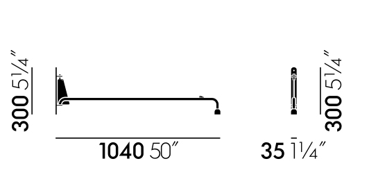 vitra potence sizes