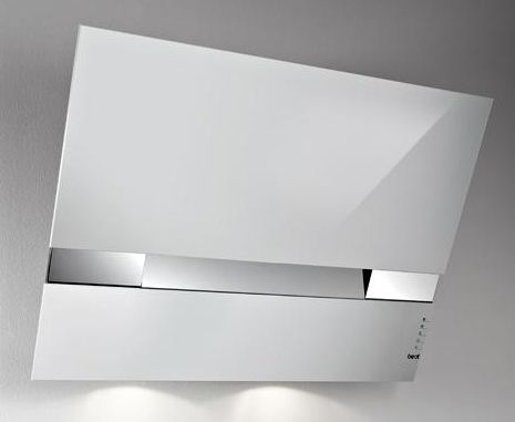 aspirazione perimetrale e timer. cappa da cucina aspirante design in ...