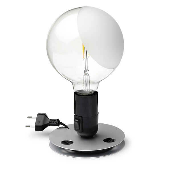 FLOS lampada da tavolo LAMPADINA a LED design by Achille Castiglioni ...