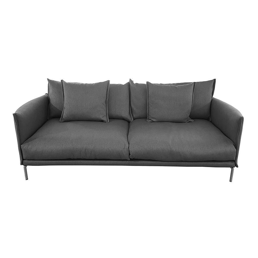 MOROSO divano a 2 posti GENTRY MAJOR 240x105 cm in tessuto GRIGIO ...