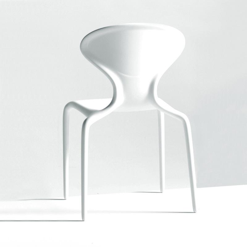 MOROSO set da 4 sedie SUPERNATURAL BIANCHE da esterni design by Ross ...